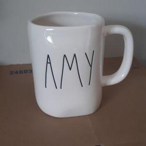 Rae Dunn LL AMY Mug